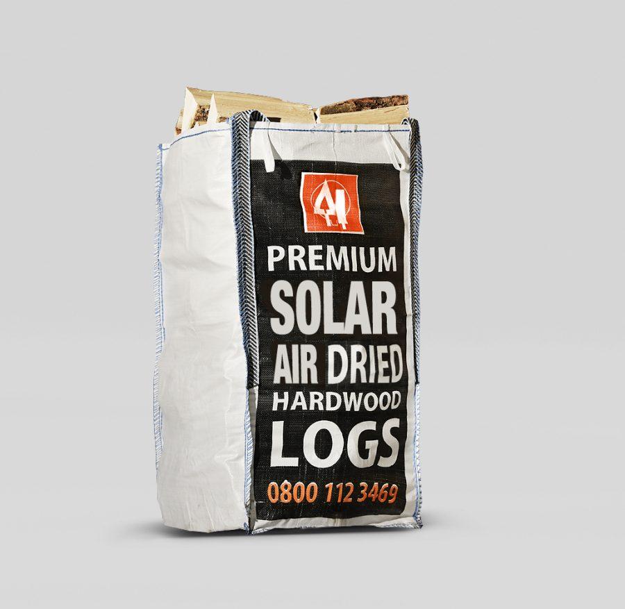 2 x Solar Air Dried Hardwood Handy Sack