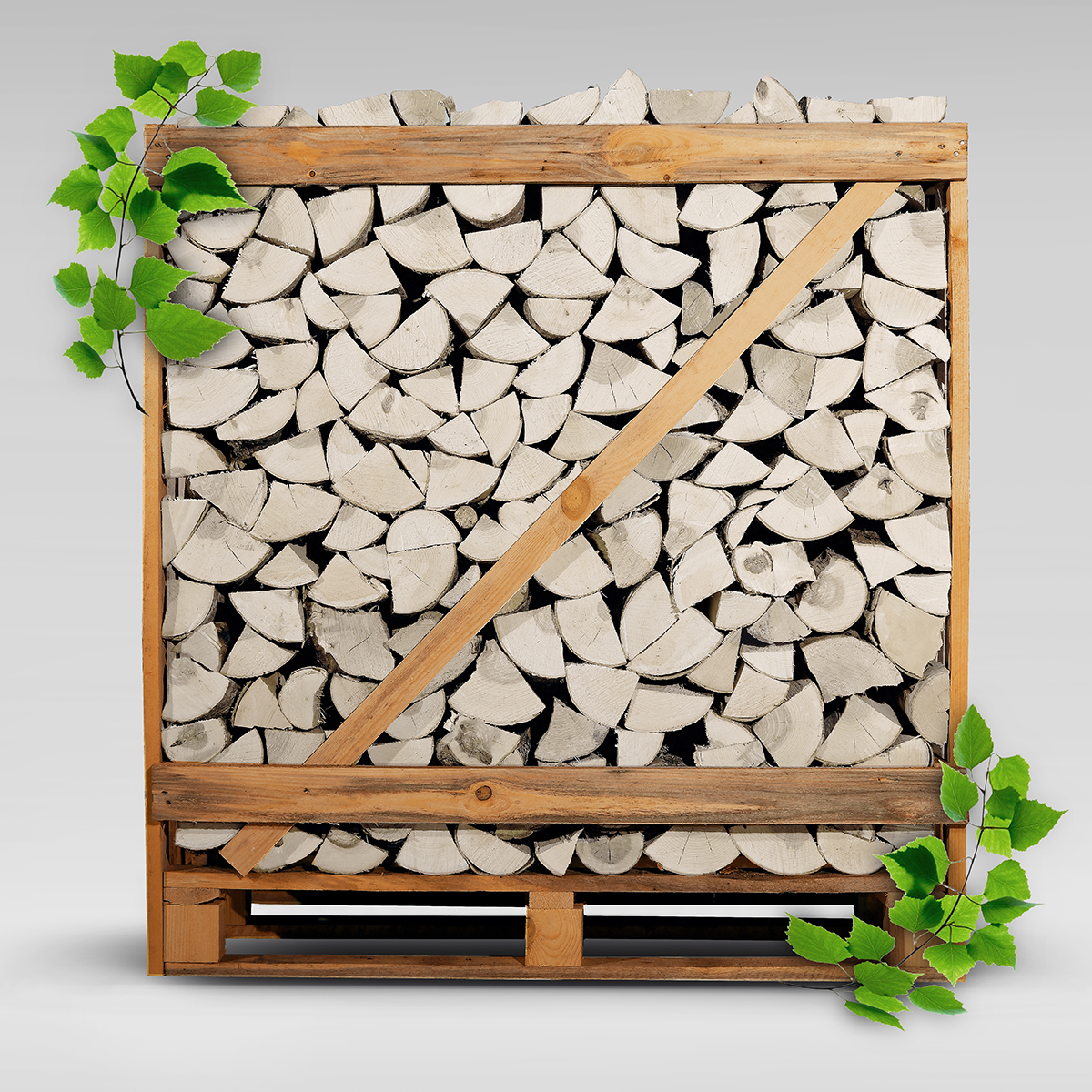 Kiln Dried Birch Firewood
