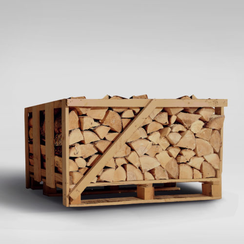 Eco Firewood Logs - Compact Crate
